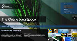 Snapmania The Online Idea Space